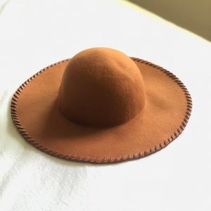 Phase 3 Felt Brown Tawny Camel Hat
